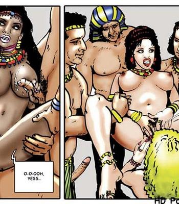 Harem Of Pharaoh comic porn sex 083