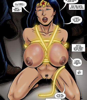 Wonder Woman Bound comic porn thumbnail 001