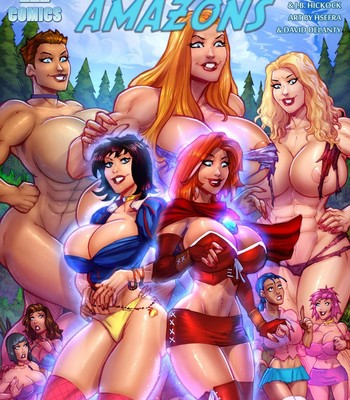 Porn Comics - Snow White And The Seven Amazones 1