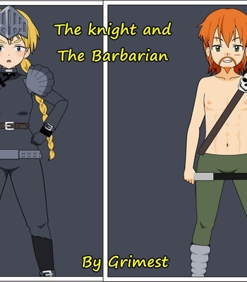 Porn Comics - The Knight And The Barbarian