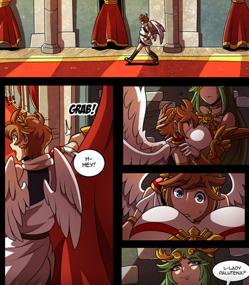 Porn Comics - Palutena And Pit 2