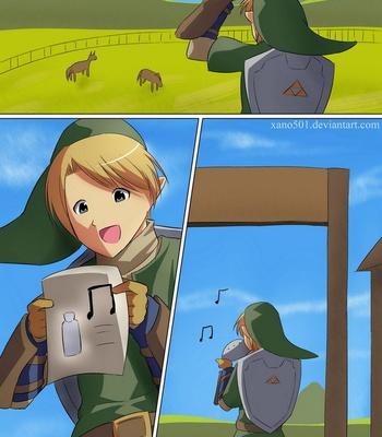Porn Comics - Zelda – The Milk Melody