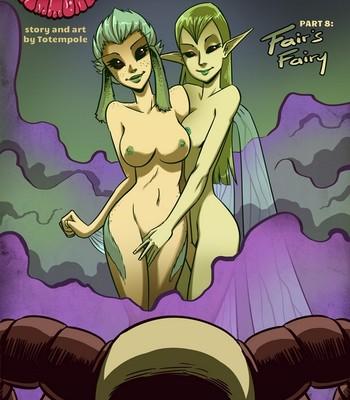 Porn Comics - The Cummoner 8 – Fair's Fairy Sex Comic