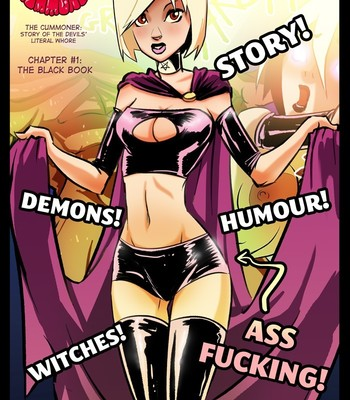 Porn Comics - The Cummoner – The Black Book 1 Sex Comic