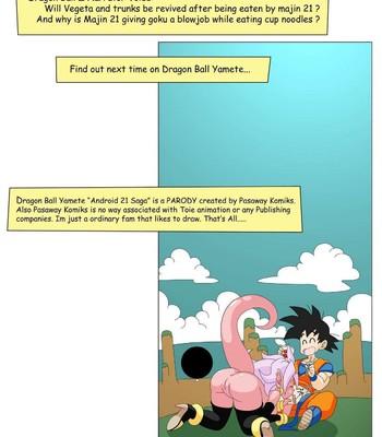 Dragon Ball Yamete – Android 21 Saga comic porn sex 035