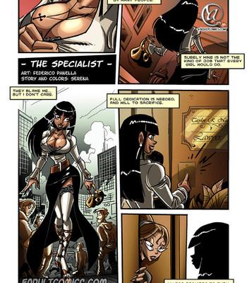 Porn Comics - The Specialist