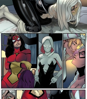 The Cat And The Spiders comic porn sex 002