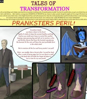 Porn Comics - Pranksters Peril