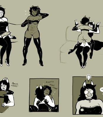 Fit & Limber Nepeta Tries To Petplay Domme comic porn sex 008