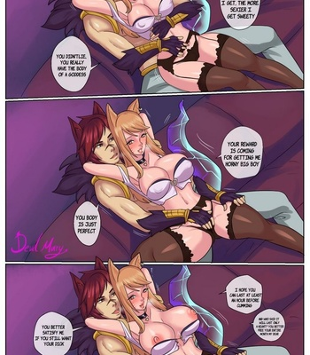 Porn Comics - Ahri And Sett