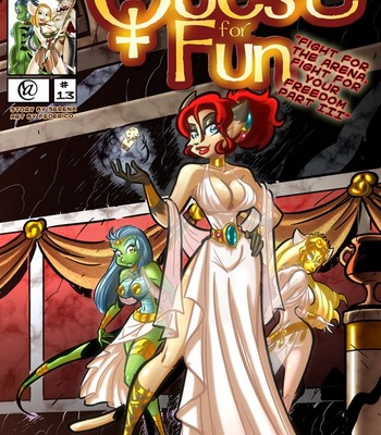 Porn Comics - The Quest For Fun 13 – Fight For The Arena, Fight For Your Freedom Part 3 Sex Comic