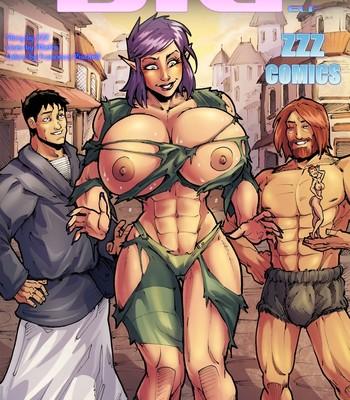 Porn Comics - The Big Elf 1