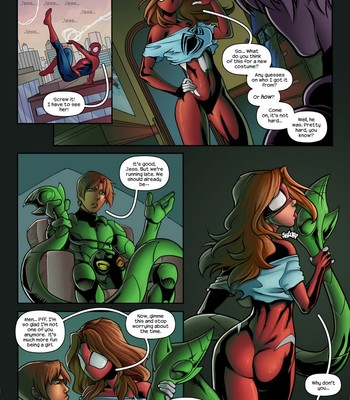 Spidercest 11 – No Such Thing As Too Many Clones comic porn sex 005