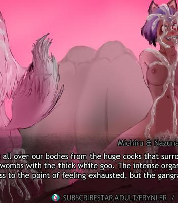 Michiru & Nazuna Berserk Beast Gangbang comic porn sex 043