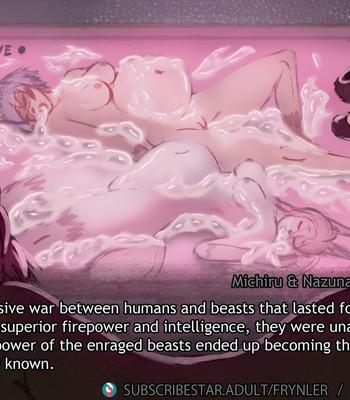 Michiru & Nazuna Berserk Beast Gangbang comic porn sex 048