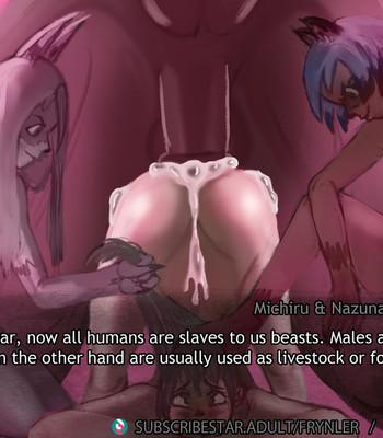 Michiru & Nazuna Berserk Beast Gangbang comic porn sex 054