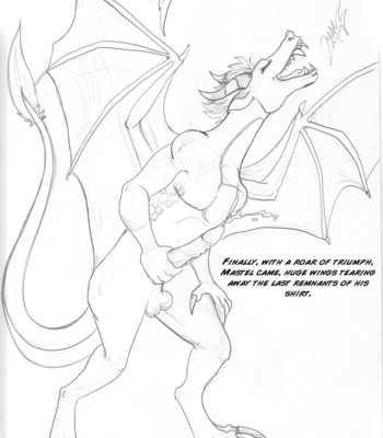 Mastel The Dragon 1 comic porn sex 009