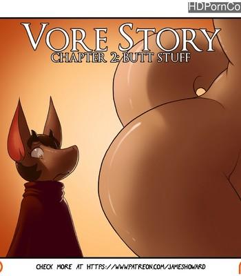Porn Comics - Vore Story 2 – Butt Stuff