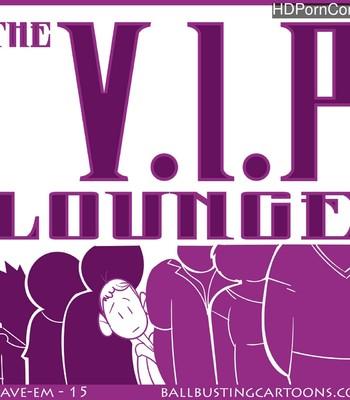 Porn Comics - The VIP Lounge Sex Comic