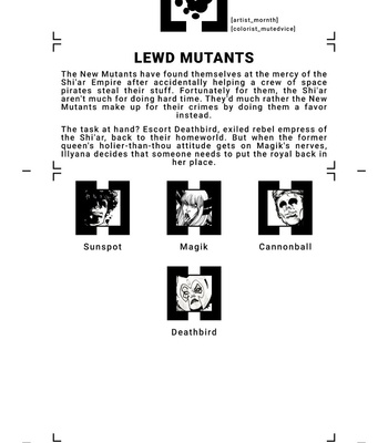 House Of XXX – Lewd Mutants comic porn sex 002