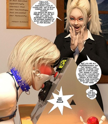 New Arkham For Superheroines 3 – Back To School comic porn sex 025