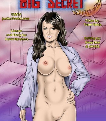 Porn Comics - Smallville's Big Secret Sex Comic