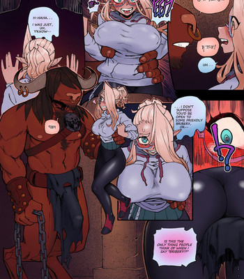 Dungeon Exam comic porn sex 013