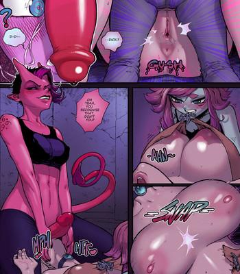 Dungeon Exam comic porn sex 027