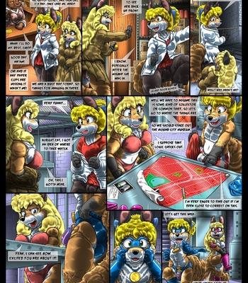 Condom Crusader And The Tanuki Assembly comic porn sex 006