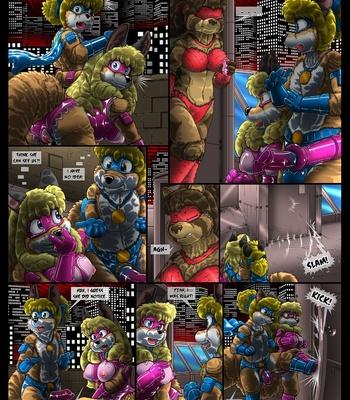Condom Crusader And The Tanuki Assembly comic porn sex 009