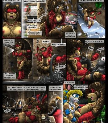 Condom Crusader And The Tanuki Assembly comic porn sex 019