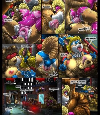 Condom Crusader And The Tanuki Assembly comic porn sex 020