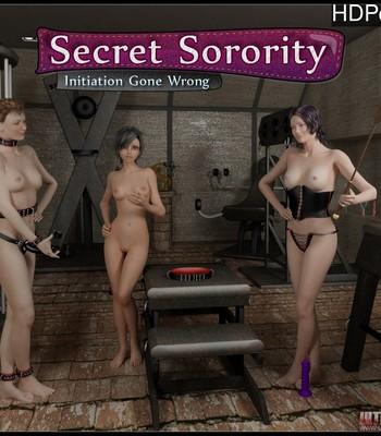 Porn Comics - Secret Sorority – Initiation Gone Wrong Sex Comic