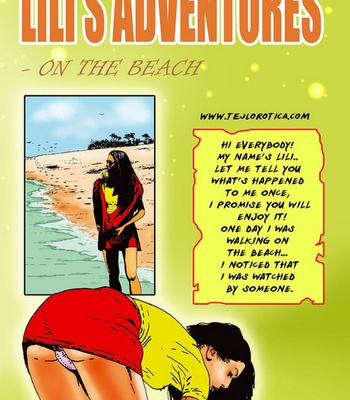 Porn Comics - Lili's Adventures – On The Beach