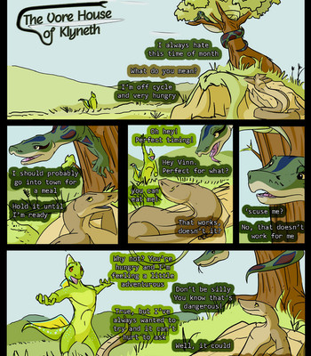 Porn Comics - The Vore House Of Klyneth – Prologue