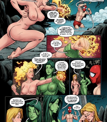 The Avengers – Blowing Steam comic porn sex 005