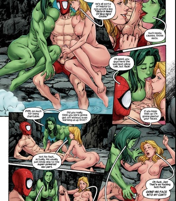 The Avengers – Blowing Steam comic porn sex 006