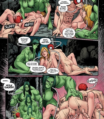 The Avengers – Blowing Steam comic porn sex 007