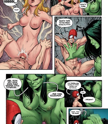 The Avengers – Blowing Steam comic porn sex 008