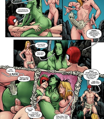 The Avengers – Blowing Steam comic porn sex 009