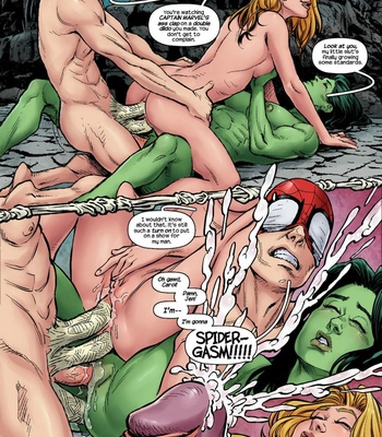 The Avengers – Blowing Steam comic porn sex 010