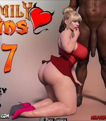 Porn Comics - Family Sins 7