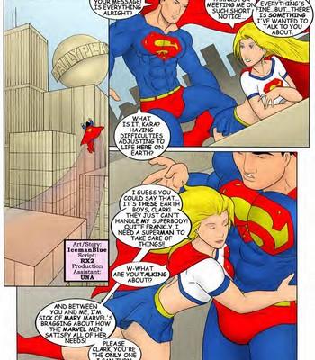 Supergirl 1 comic porn sex 002