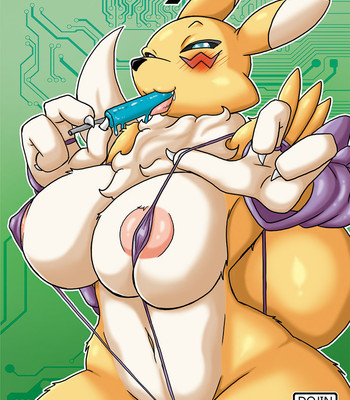 Porn Comics - Fluffy Tail – Renamon incumming