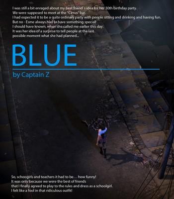 Porn Comics - Blue