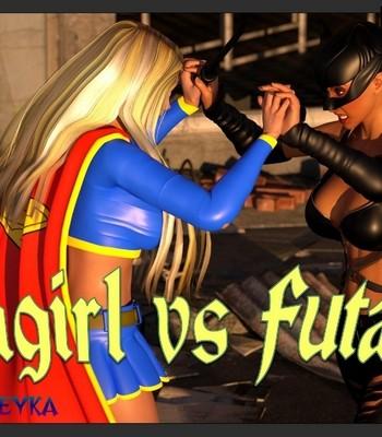 Porn Comics - Ultragirl Vs Futakitty 1
