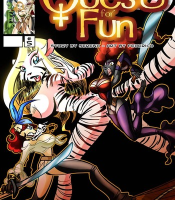 Porn Comics - The Quest For Fun 5 Sex Comic