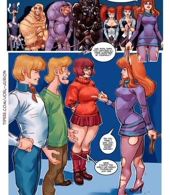 Scoubidou comic porn sex 026