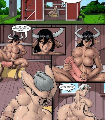 Porn Comics - Ell x Shira