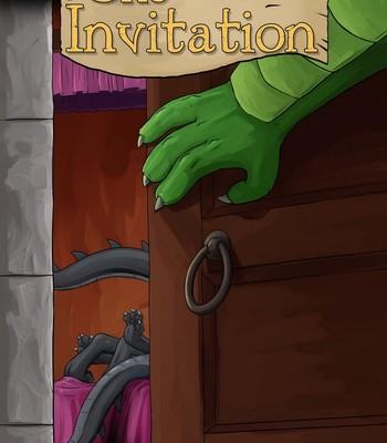 Porn Comics - The Invitation